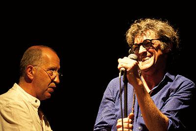 Eric Lareine et Denis Badault